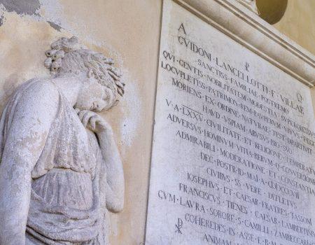 LA SACRA BELLEZZA - 01-Tomba marchese Vila Lancellotti